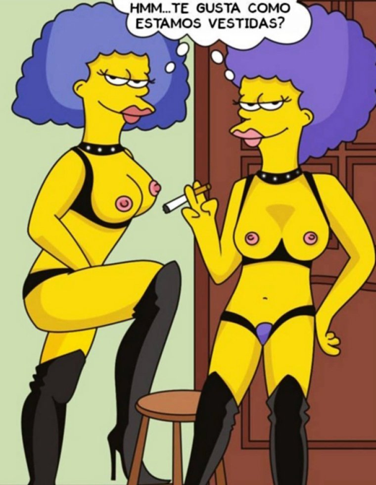 Bart Simpson fucking with his aunts
