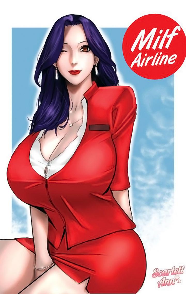 Scarlett Ann – MILF Airline