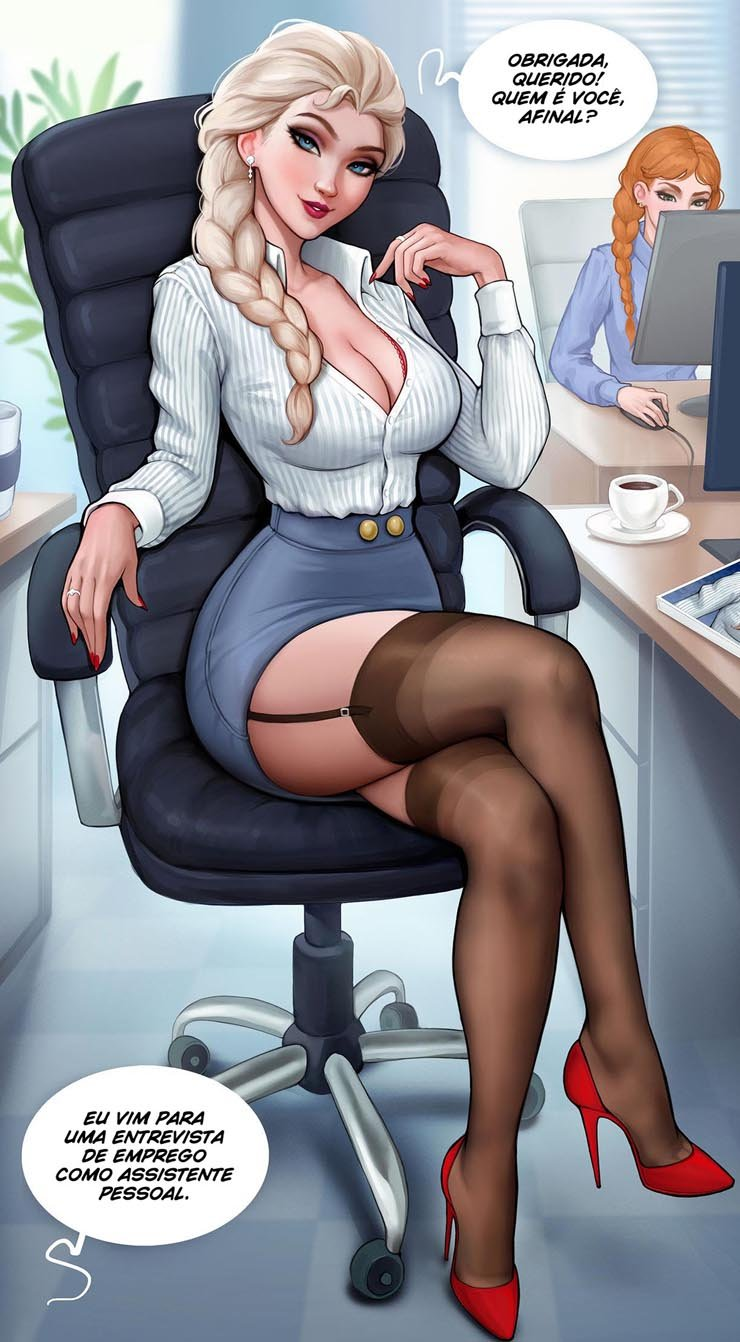 Job interview with Elsa (AromaSensei) [Frozen]