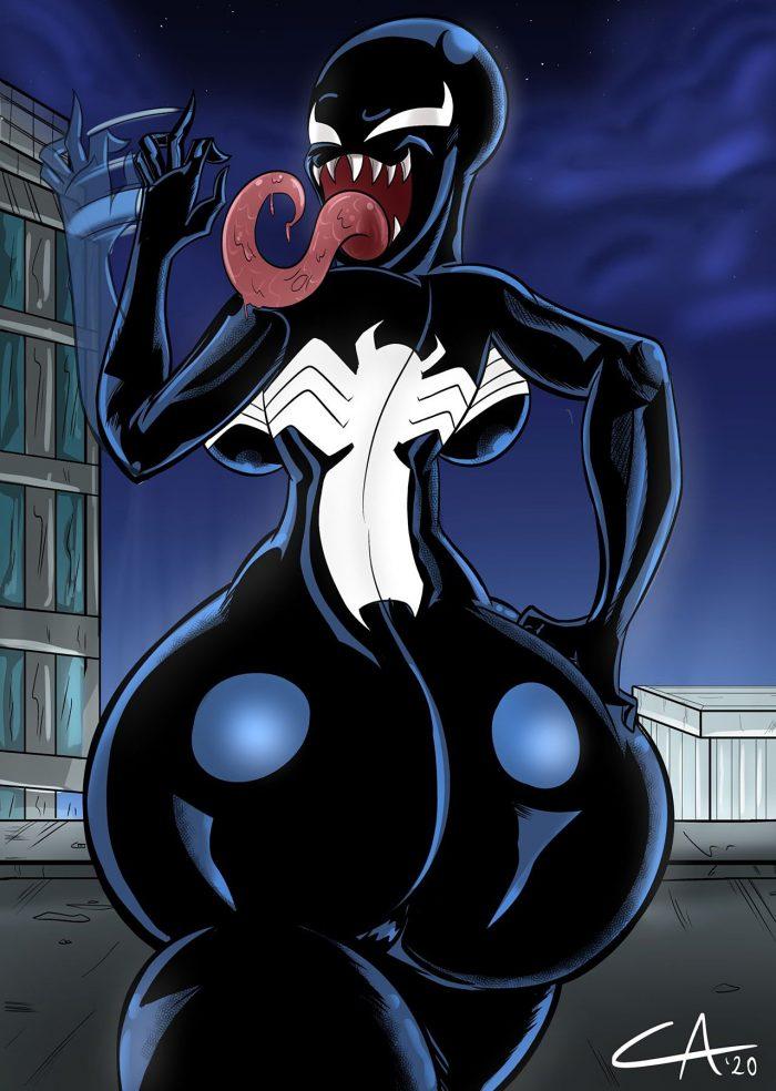 [Ameizing Lewds] Thicc-Venom (Spider-Man)