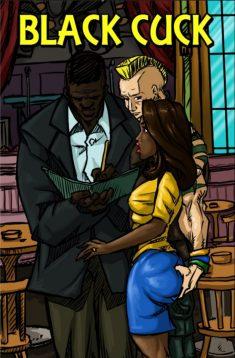 Illustrated Interracial – Black Cuck